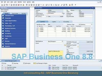 SAP Business One 8.8